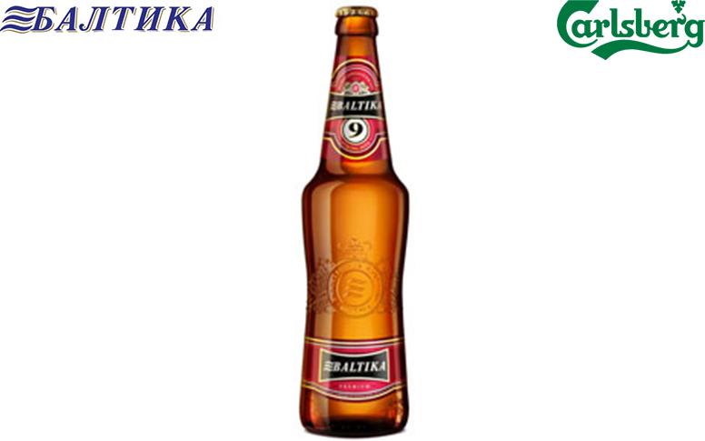 Пиво Baltika №9 Міцне