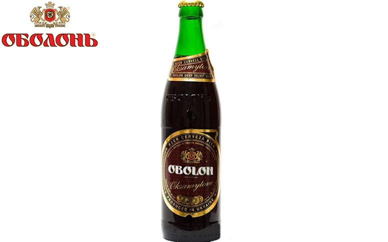 Пиво Оболонь Оксамитове