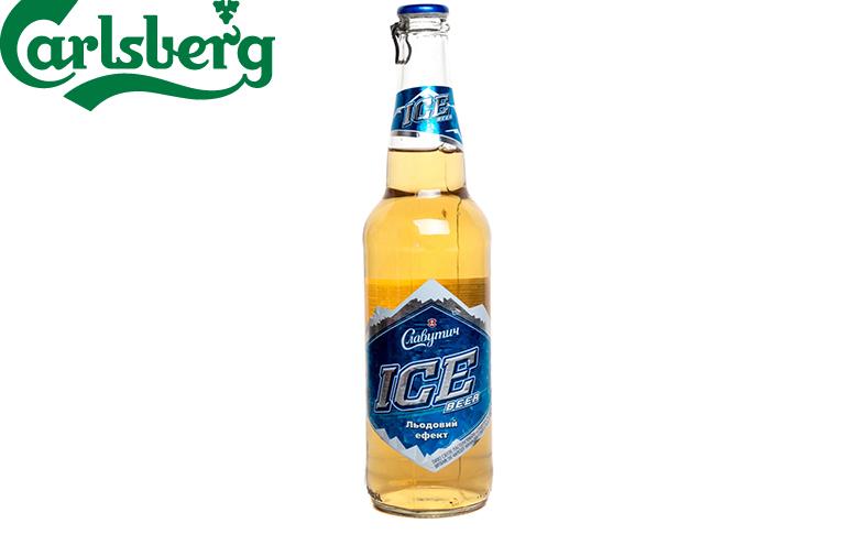 Славутич ICE. Льодове пиво