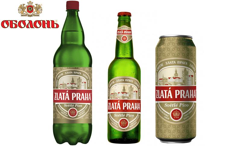 Пиво Zlata Praha