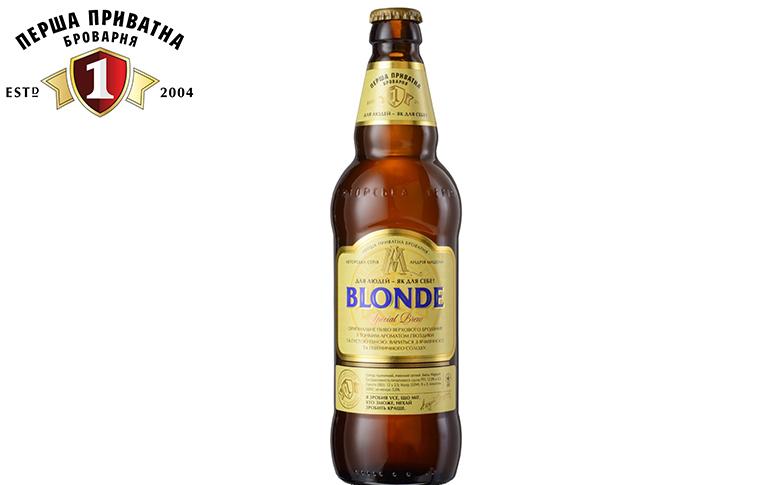 Пиво Blonde