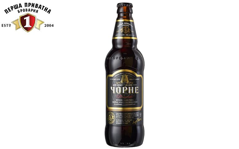 Пиво Перша Приватна Броварня Чорне
