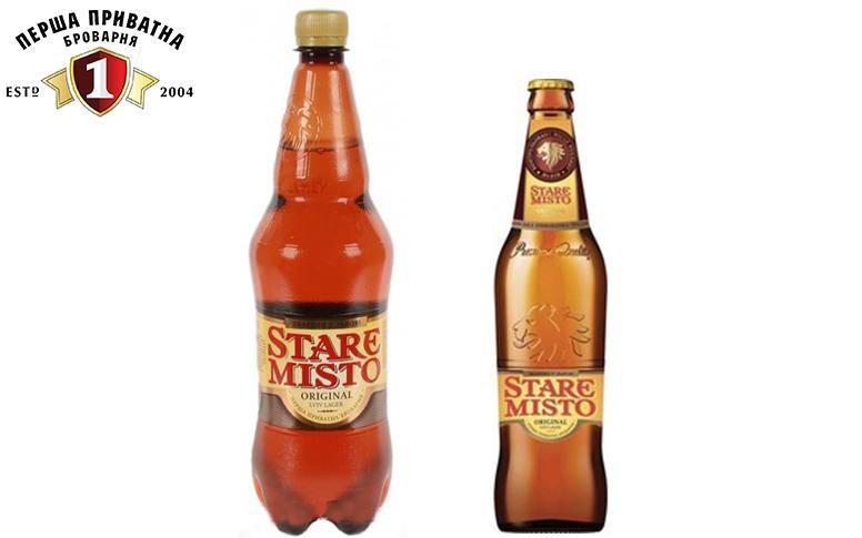 Пиво Перша Приватна Броварня Stare Misto