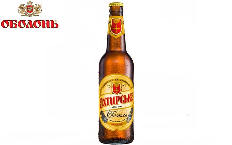 Пиво Охтирське Світле