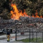 Из-за пожара на складе Jim Beam сгорели семь миллионов литров виски