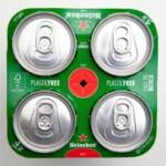 Heineken сокращает использование пластика в упаковке