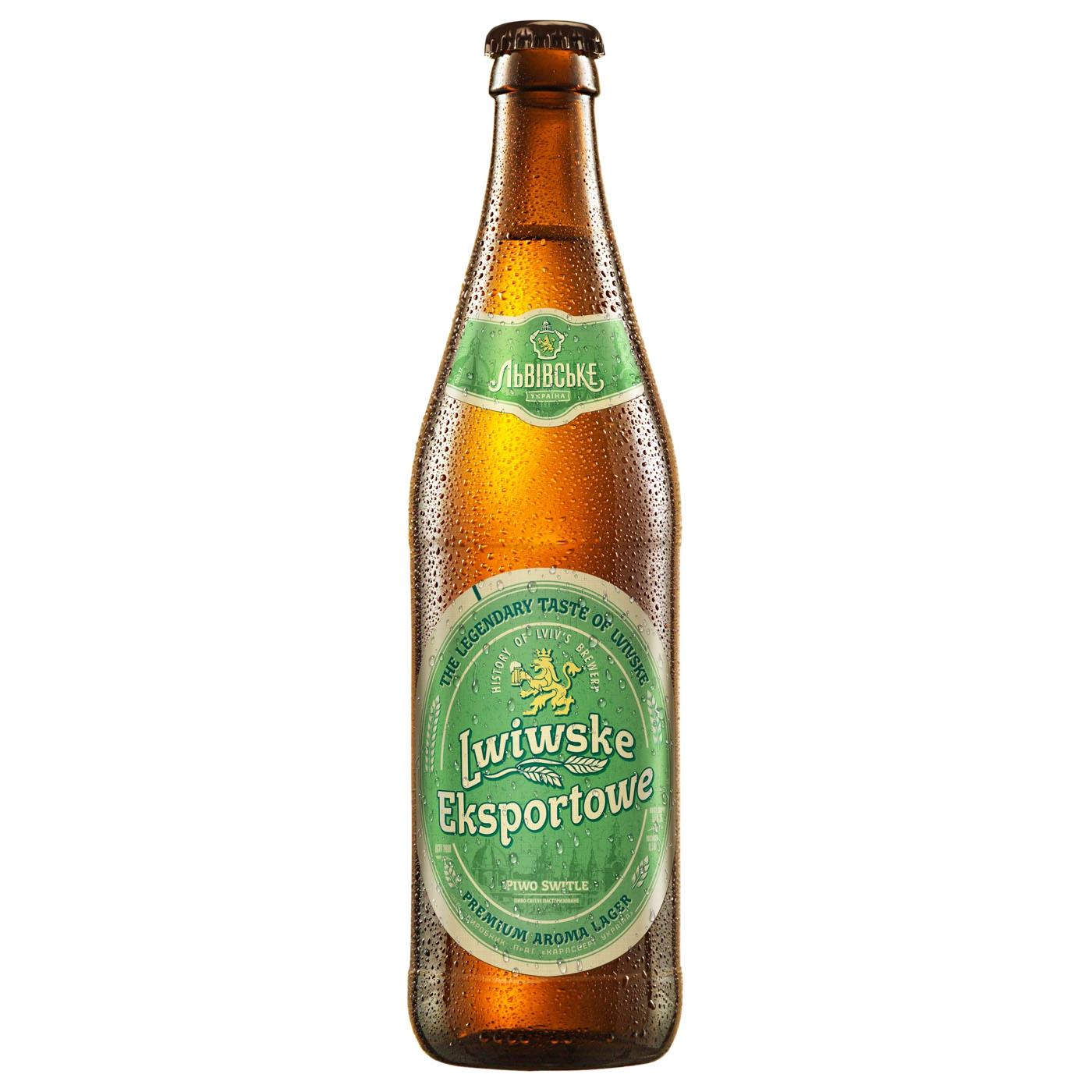 Пиво Львовское Eksportowe