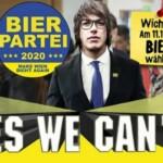 В Вене в муниципальных выборах приняла участие «Пивная партия»
